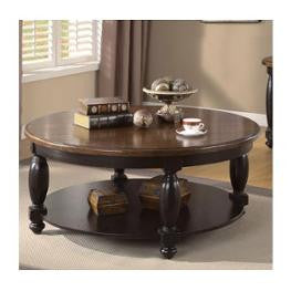 Riverside Delcastle Round Cocktail Table