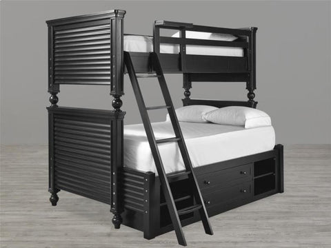 Universal Furniture Black & White All Amreican Bunk Bed Ends 4/6 (set of 4)