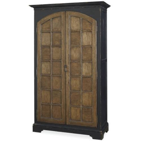 Universal Furniture New Bohemian The Black & Tan Cabinet