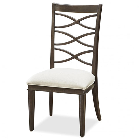Universal Furniture California X Back Side Chair  (2/ctn KD)