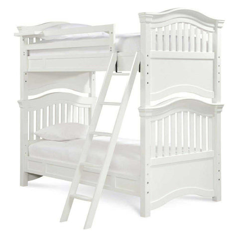 Universal Furniture Classics 4.0 Twin Bunk Bed - Summer White
