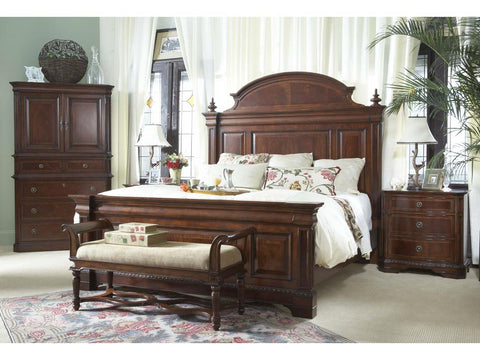 Antebellum King Mansion Bed