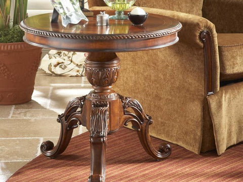 Antebellum Round End Table