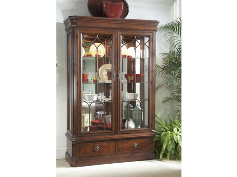 Antebellum Display Cabinet