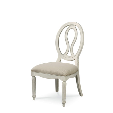 Universal Furniture Summer Hill Pierced Back Side Chair (2/ctn KD)