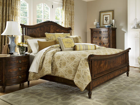 Biltmore CA King Panel Sleigh Bed