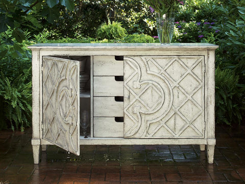 "Biltmore ""Jardin"" Lattice Console"