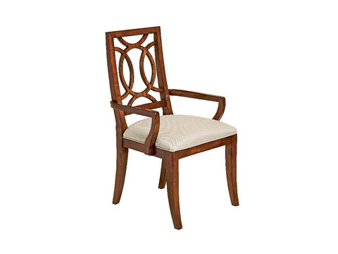 Boulevard Wood Dining Arm Chair