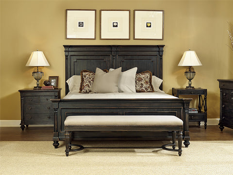 1510 Group Queen Upholstered Panel Bed