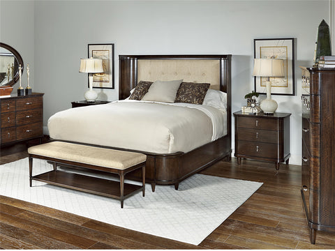 1530 Group CA King Upholstered Panel Bed