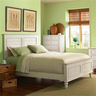 Riverside Placid Cove King Louver Bed