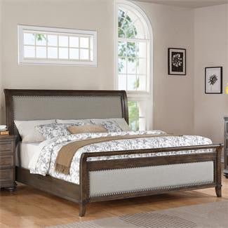 Riverside Belmeade Queen Upholstered Sleigh Bed