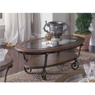 Riverside Fortunado Oval Cocktail Table