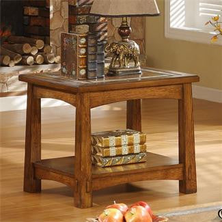 Riverside Craftsman Home End Table