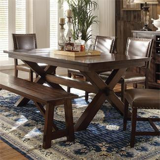 Riverside Bedford Trestle Dining Table-Top