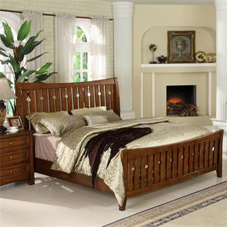 Riverside Craftsman Home King Slat Bed