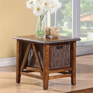 Riverside Claremont Rect End Table