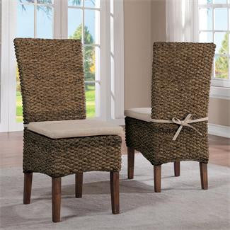 Riverside Mix-N-Match Chairs Woven Side Chair 2in