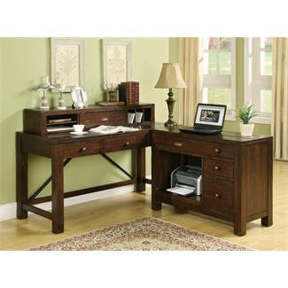 Riverside Castlewood Writing Desk Hutch