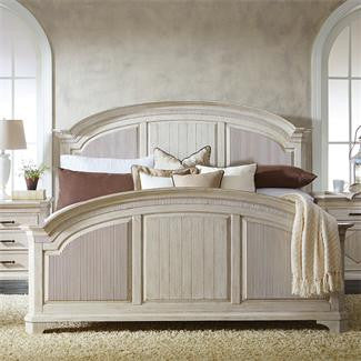 Riverside Aberdeen California King Reeded Bed