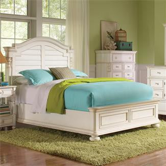 Riverside Placid Cove King Arch Storage Bed