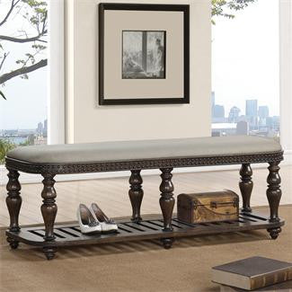 Riverside Belmeade Bed Bench-Upholstered