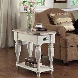 Riverside Coventry Two Tone Chairside Table