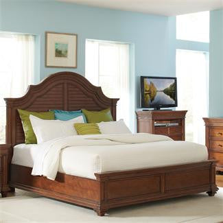 Riverside Windward Bay King Arch Storage Bed