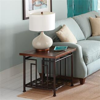 Riverside Granville End Table