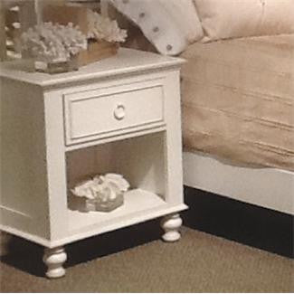 Riverside Placid Cove 1-Drawer Nightstand