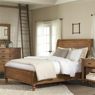 Riverside Summerhill King Sleigh Bed