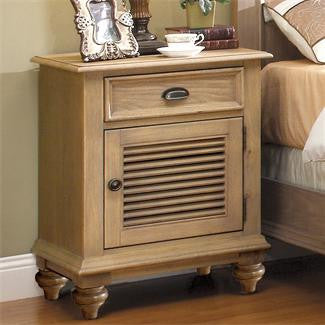 Riverside Coventry Shutter Door Nightstand