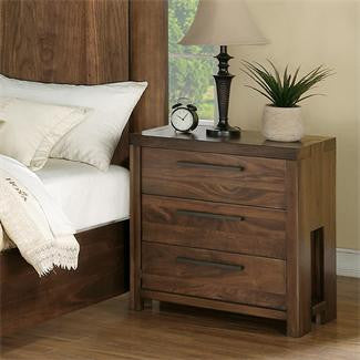 Riverside Terra Vista 3-Drawer Nightstand