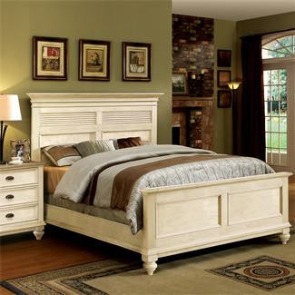 Riverside Coventry Two Tone California King Panel Sutter Bed