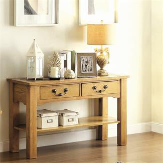 Riverside Glendorn Sofa Console Table