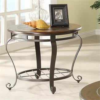 Riverside Eastview Round End Table