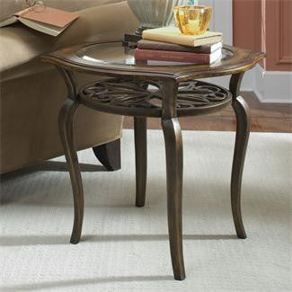 Riverside Serena Round End Table