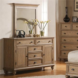 Riverside Coventry Panel Door Dresser