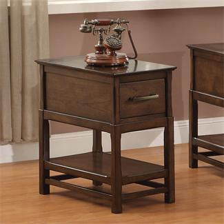 Riverside Tranquility Drawer Chairside Table