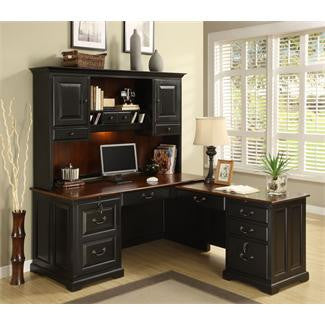 Riverside Bridgeport Workstation Hutch