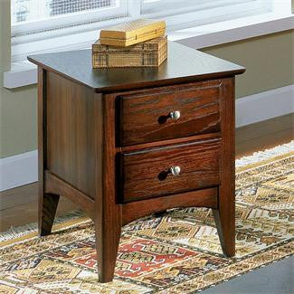 Riverside Metro II Two Drawer End Table