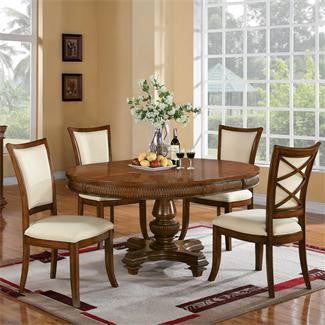 Riverside Windward Bay Round Dining Table-Top