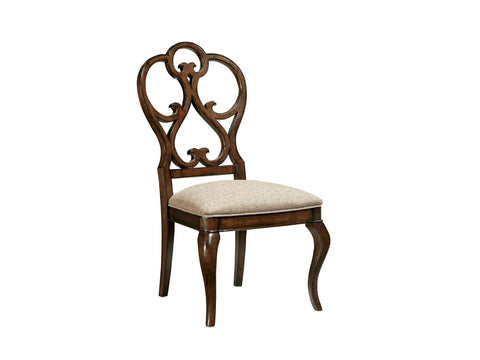 Harbor Springs Scroll Side Chair