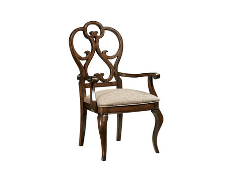 Harbor Springs Scroll Arm Chair
