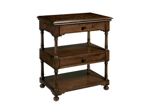 Harbor Springs Small Tiered Table