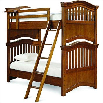 Classics 4.0 Bunk Bed-Saddle Brown Twin