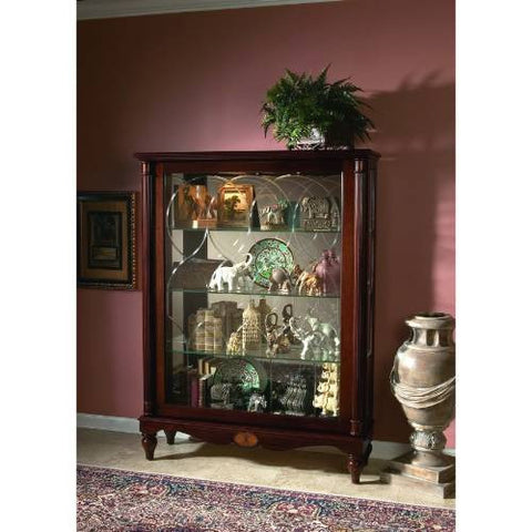 Pulaski Two Way Sldg Door Mantel Curio Cardigan 20703