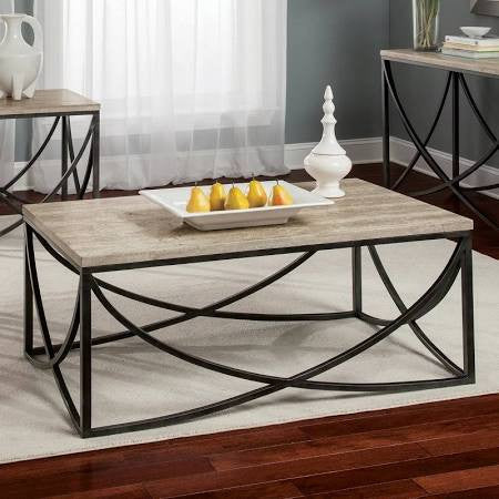 Riverside Cortona Rectangle Cocktail Table