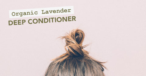 DIY Lavender Deep Conditioner
