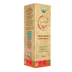 Organic Lemongrass Essential Oil (15ml)